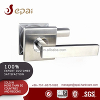 New Design Square Steel Lever Handle