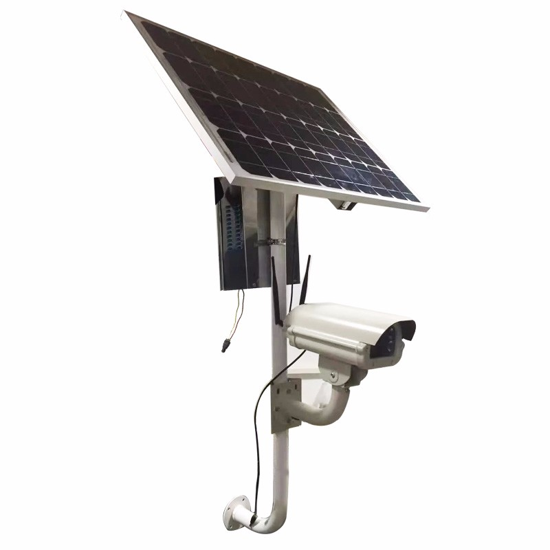 High Quality Security Wireless GSM Alarm 1080P Solar IP Camera