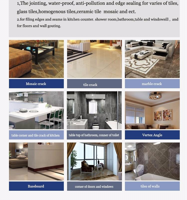 Free Sample Waterproof Ceramic Floor Tile Adhesive Factoryglossy