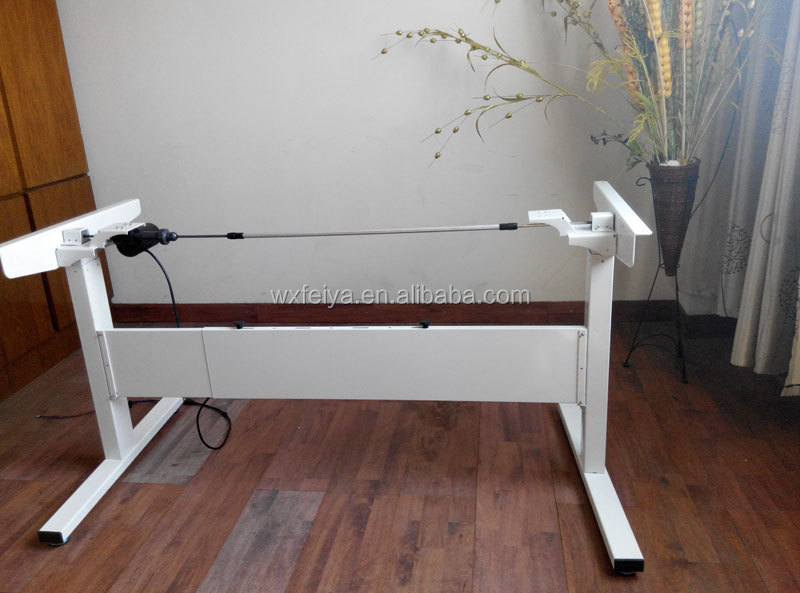 adjustable table legs with linear actuator electric height computer desk