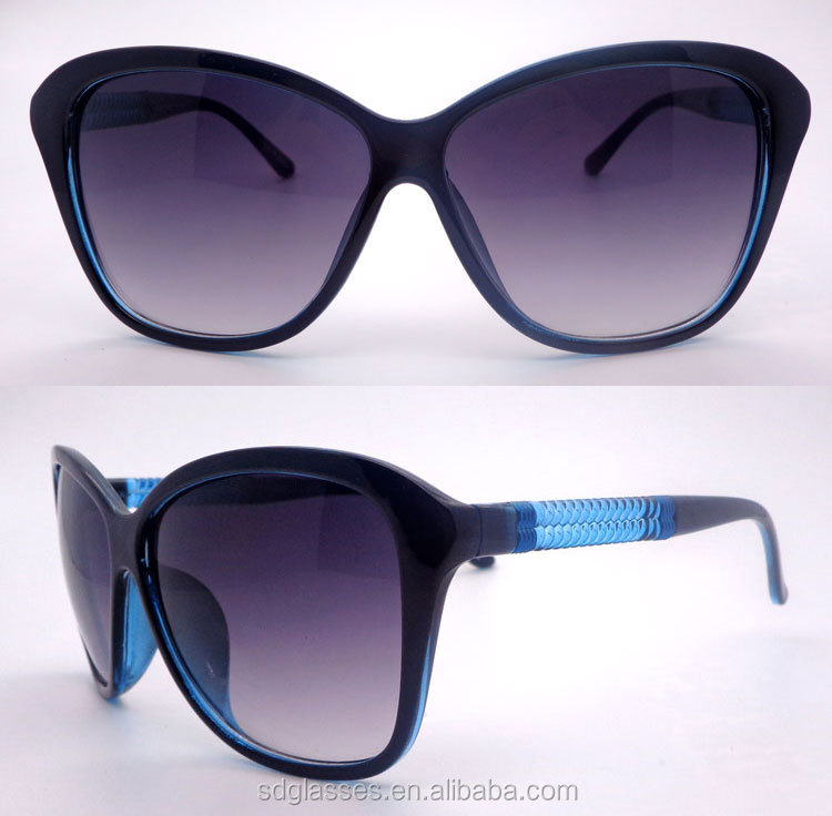 OEM Factory one-station service two tone temples cheap bulk buy order sunglasses