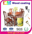 Water based scratch resistance high gloss waterproofing clear paint for wood