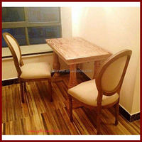 Factory direct high back leather dining chairs dining room chairs antique reproductions french style furniture louis xv chair