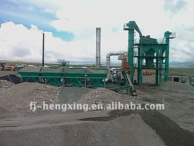 Intermittenr Mandatory Asphalt Mixture Equipment LB Series Asphalt Concrete Mixing Equipment