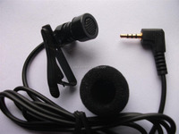 2.5mm metal lapel collar microphone gooseneck computer microphone manufacture