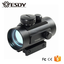 Tactical 1x40 Red Green Dot Sight sniper Scope w/10mm - 20mm Weaver Mounts 5 MOA