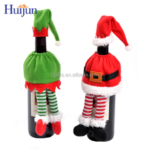 2017 New item festive wine bottle decoration dinner party holiday decoration