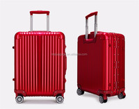 aluminum trolley luggage with TSA Combination Lock case business case/luggage wheels parts/rattan bag indonesia