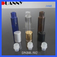 EMPTY 5ML 10ML ROLL ON GLASS BOTTLE WITH METAL ROLLER BALL WHOLESALE
