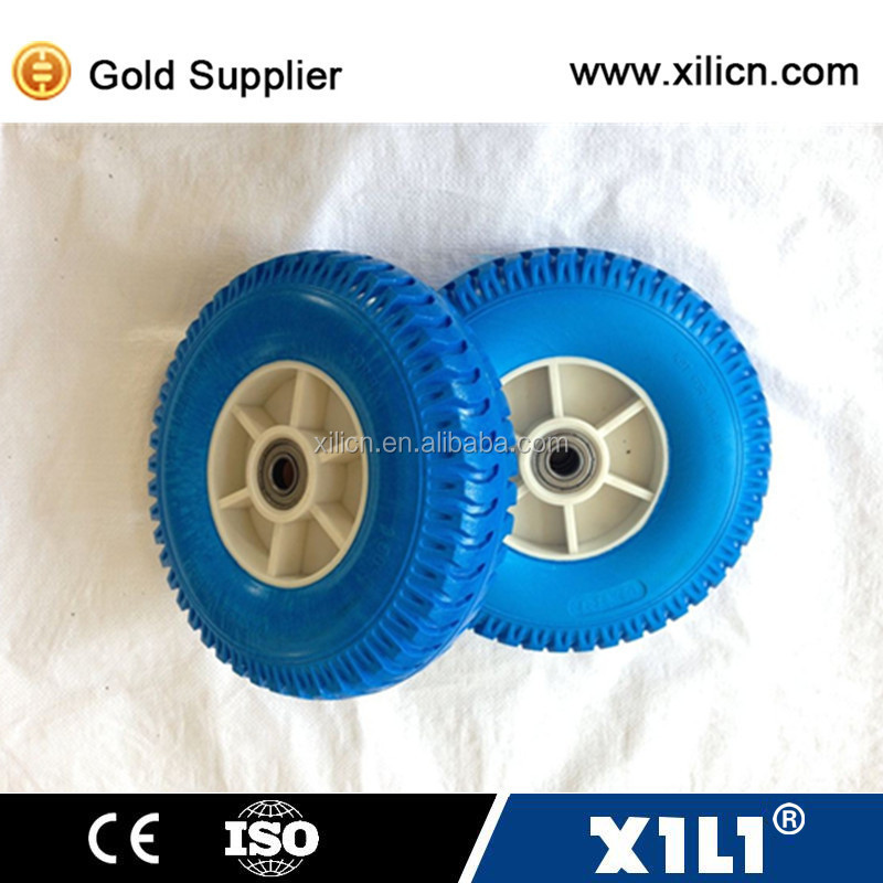 Various size of small plastic wheel for carts