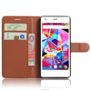 Factory Wholesale Universal Wallet Leather Case For Archos Diamond S Smart Phone