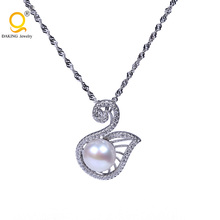 vogue jewelry wedding necklace pure silver chain necklace