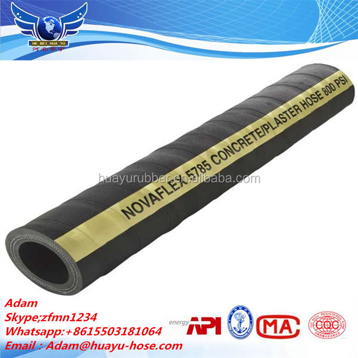 professional rubber sponge pipe / high quality rubber hose concrete vibrator high pressure hydraulic hose