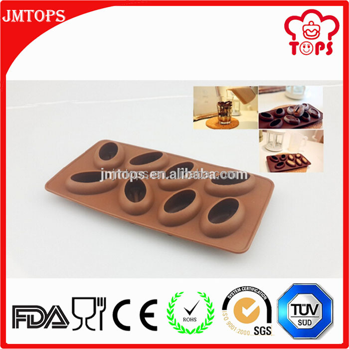 Cakes decorating chocolate chip molds silicone, silicone molds chocolate molds, silicones coffee bean mold