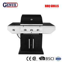 CSA Approval Professional 3 Burner Home Use rectangular bbq grill