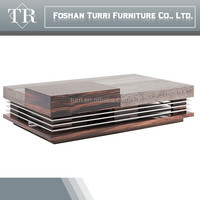 modern design marble travertine top coffee table for luxury home furniture