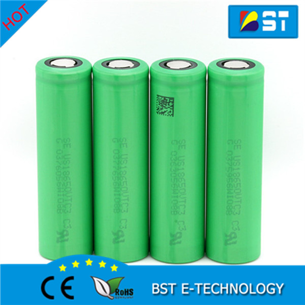HOT!!! 3.7V 2250mAh US18650V3 Rechargeable 18650 li-ion Battery for Sony us 18650 V3 battery