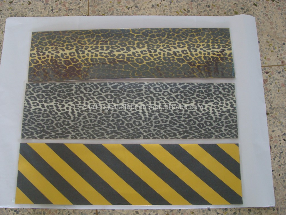 Color skateboard griptape