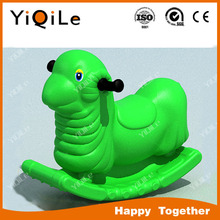 2016 attractive appearance outdoor plastic playsets toys amusement park plastic seesaw for kids