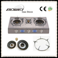 Good Quality 3 Burners Stainless Steel Gas Stove BW-3011