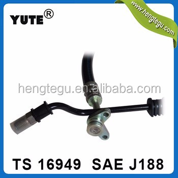 zhejiang yuyao factory sae j188 flexible power steering hose for car