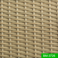 Brown Color Stable Patio Furniture Material