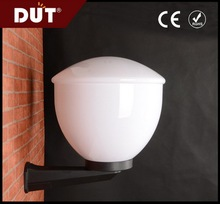 new products no color changing milky acrylic outdoor plastic wall lighting