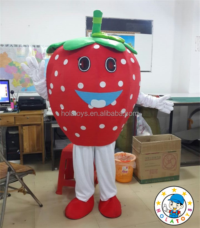 Cute mascot costume/strawberry cosplay costume for sale