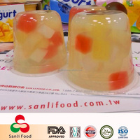 Taiwan Snacks and Candy Plastic Fruit Pineapple Pulp Jelly Pinapple Jelly