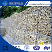 Alibaba China manufacture pvc gabion baskets/gabion baskets chicken wire mesh factory