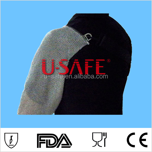 U SAFE cut resistant stainless steel metal arm guard