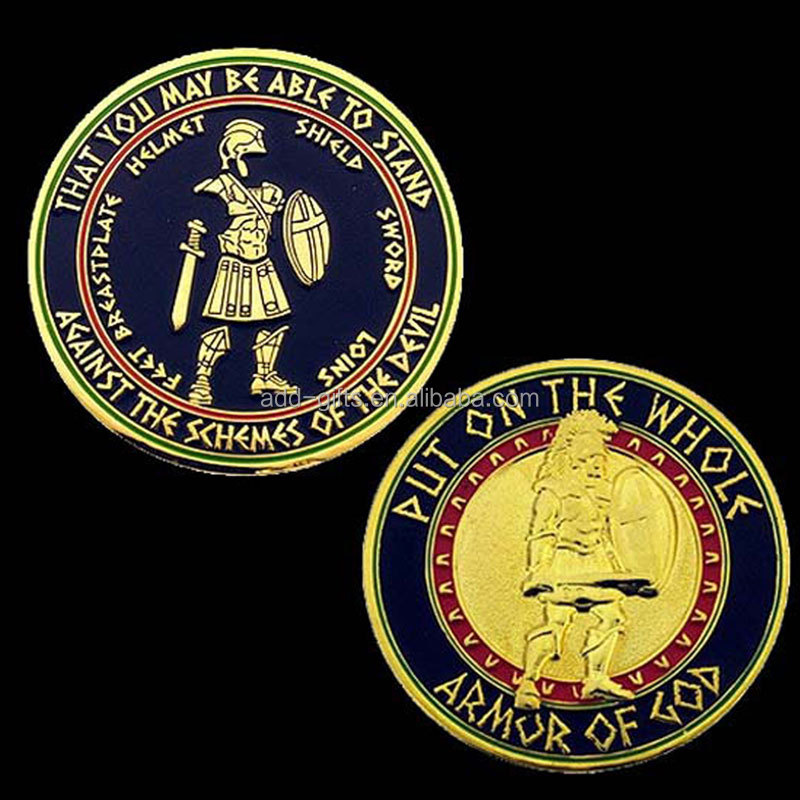 commemorative coins manufacturers custom medal of honor challenge gold coin