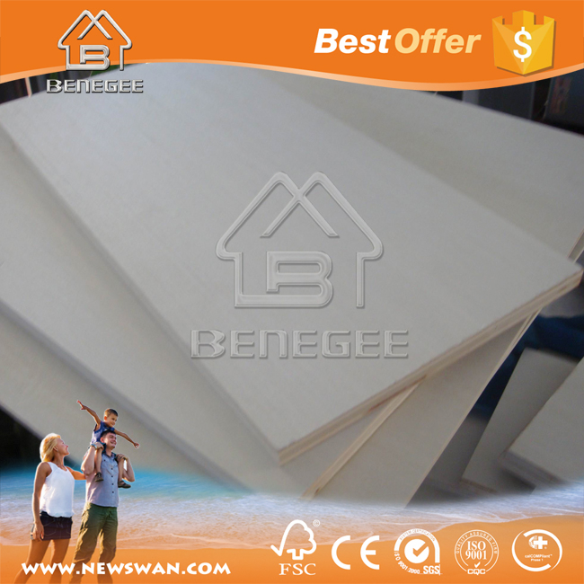 Factory plywood panel/ E2 furniture plywood