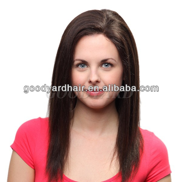 low price high quality human lace front wig India hair virgin hair