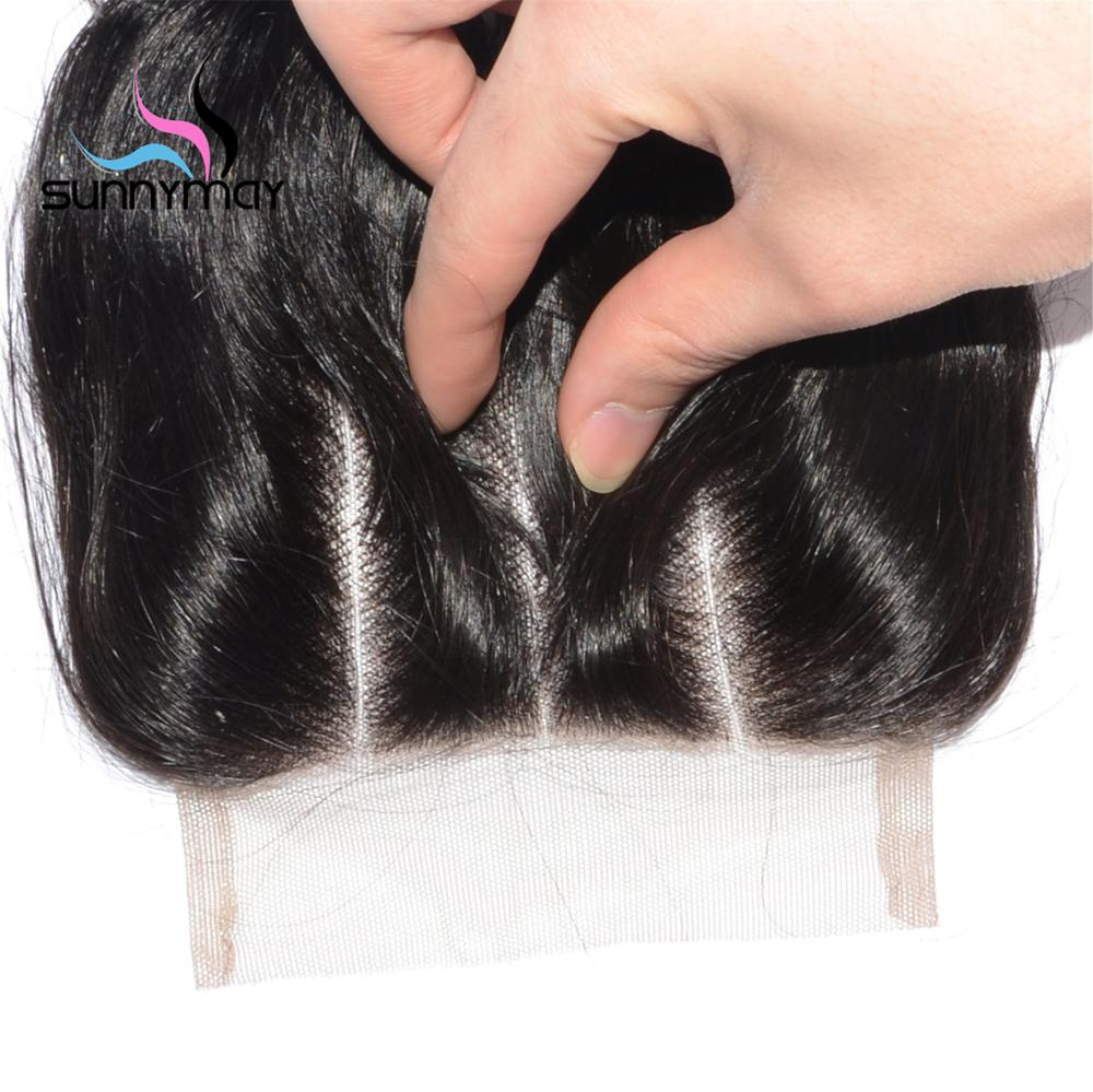 Wholesale 100% Human Hair In Stock 3 Way Parting Loose Wave Virgin Brazilian Hair 5x5 Lace Closure