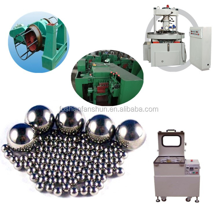 High efficient grind ball making machine for steel ball forging machine