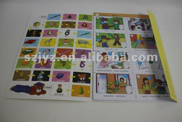 children listen and play learning textbook printing service