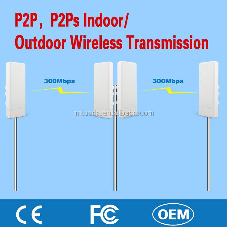 500 Meters Invisible Lan Cable using Wireless Transmitter and Receiver AP/CPE with RJ45 Ports