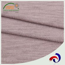 Manufacture 100 cotton bule grey knit jersey fabric
