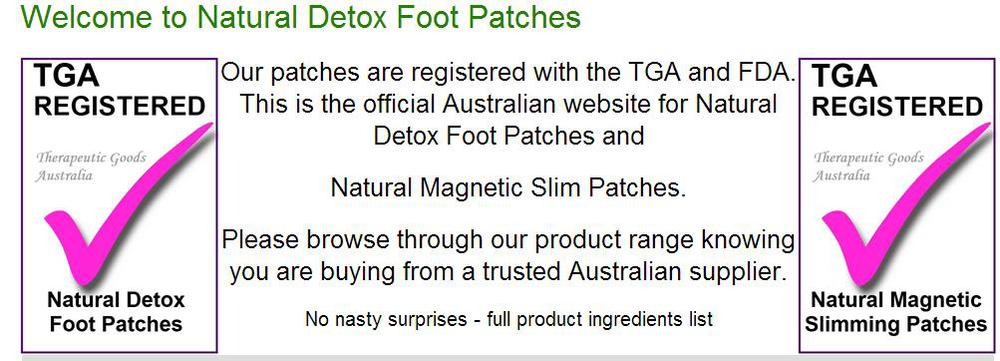 Best Detox Product Bamboo Detox Foot Patch