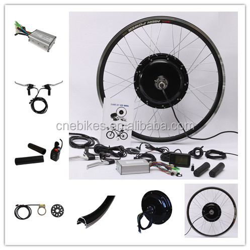 CE approved DIY high power electric bycicle conversion kits/electric bicycle motor kits