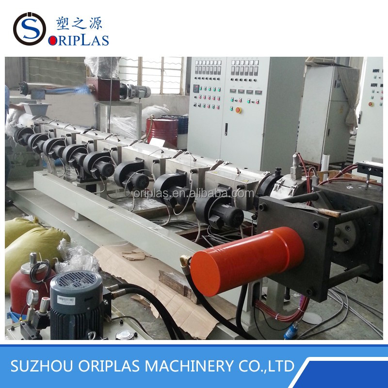 Single Screw Pelletizing Line for Plastic Extruder PP Prilling Extrusion Machinery