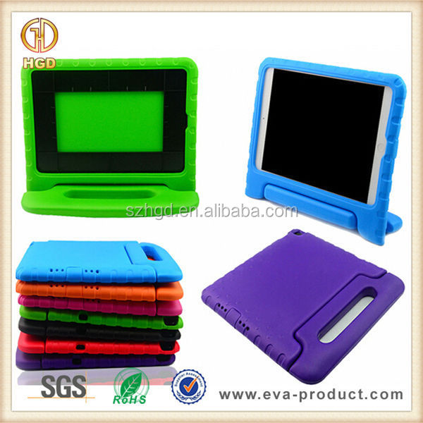 for iPad case rubber/shockproof EVA rubber case for iPad air/iPad mini 2