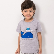 MS69650C summer latest design kids boys organic cotton t shirt