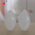 small white LED glass candle light shade