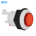 Arcade machine parts manufacturer direct wholesale zero delay switch A4 / P4 colorful arcade game push button