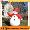 Wholesale cheap customized red inflatable christmas snowman decorations