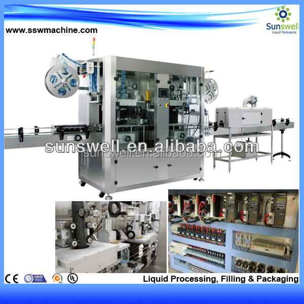 automatic one side sticker labelling machine for square bottle,round bottle,flat bottle