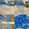 hot sale canada portable movable fencing/welded wire mesh temporary / valla temporal, cerca veces, 3d valla