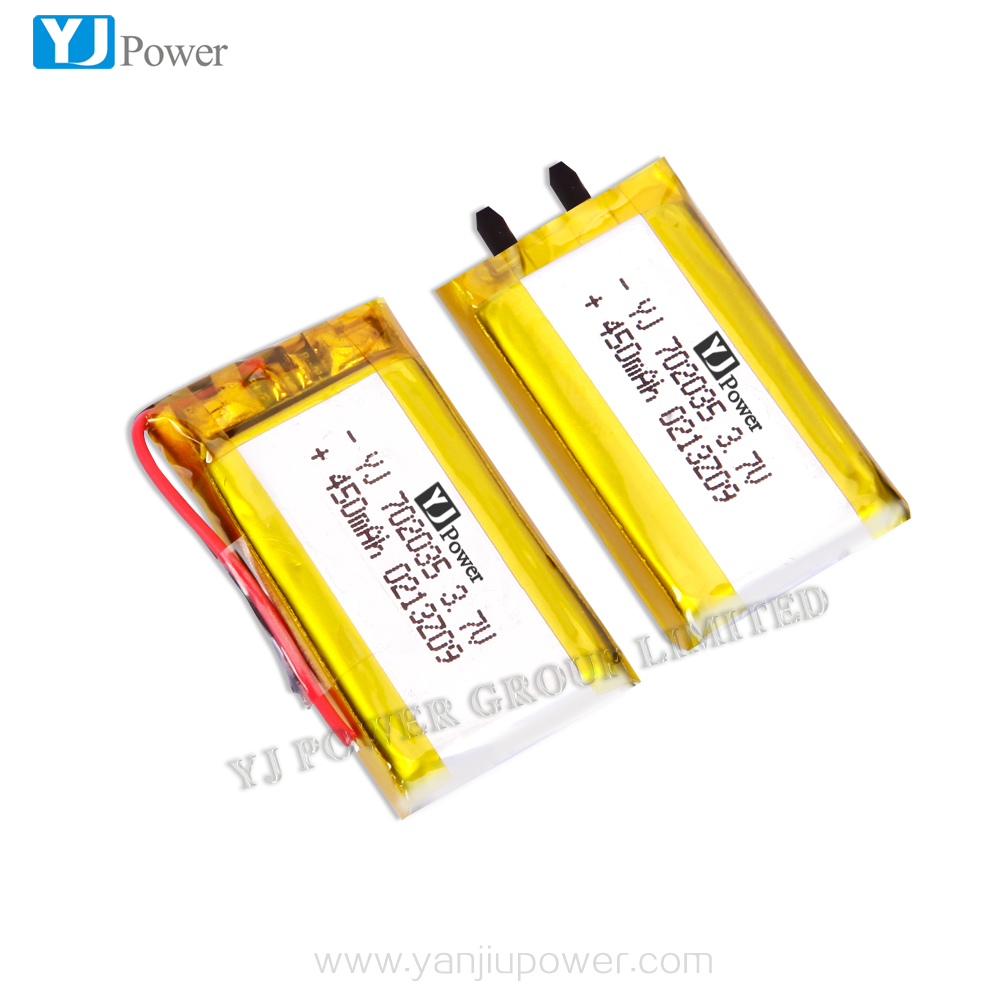 3.7V Wireless lipo cell rechargeable li-polymer battery with high quality and low price